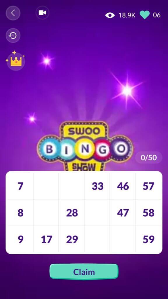 Swoo Bingo Show