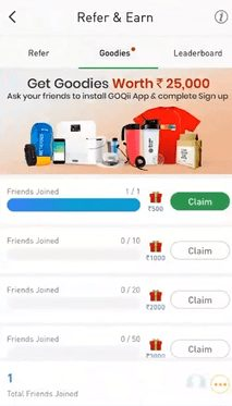 GOQii App - Refer and Earn Free Goodies GOQii Smart Band Activation Code (11)