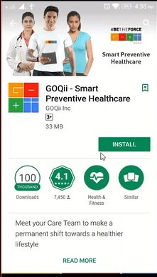 GOQii App - Refer and Earn Free Goodies GOQii Smart Band Activation Code (2)