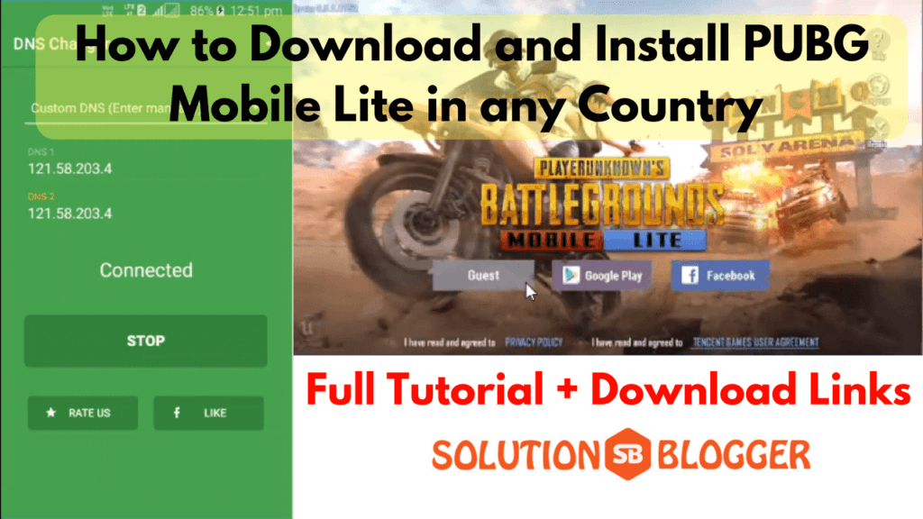 download pubg lite mobile