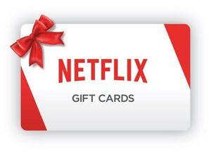 Use Netflix Gift Card