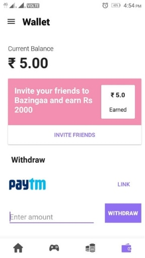 Bazingaa App Unlimited Refer and Earn Trick | How to Win All