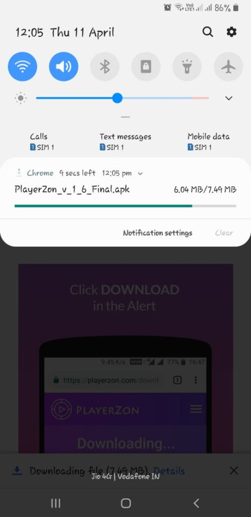 Playerzon App