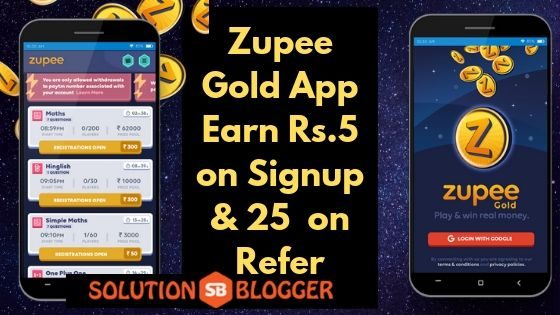 Zupee Gold APP (APK) Download for Android | Refer Code | Tips | MOD