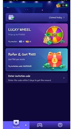 How to Refer and Earn Rs.40?