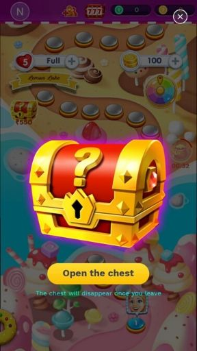 Gift Box in Golden Match 3