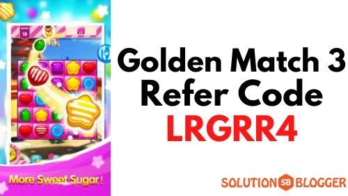 Golden Match 3 Referral Code