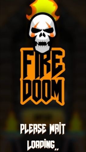 Firedoom app is loading